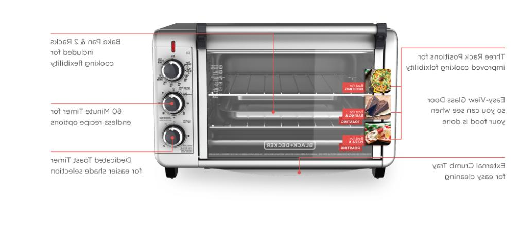 CONVECTION OVEN Baking Pizza Stainless Steel Commercial Toaster