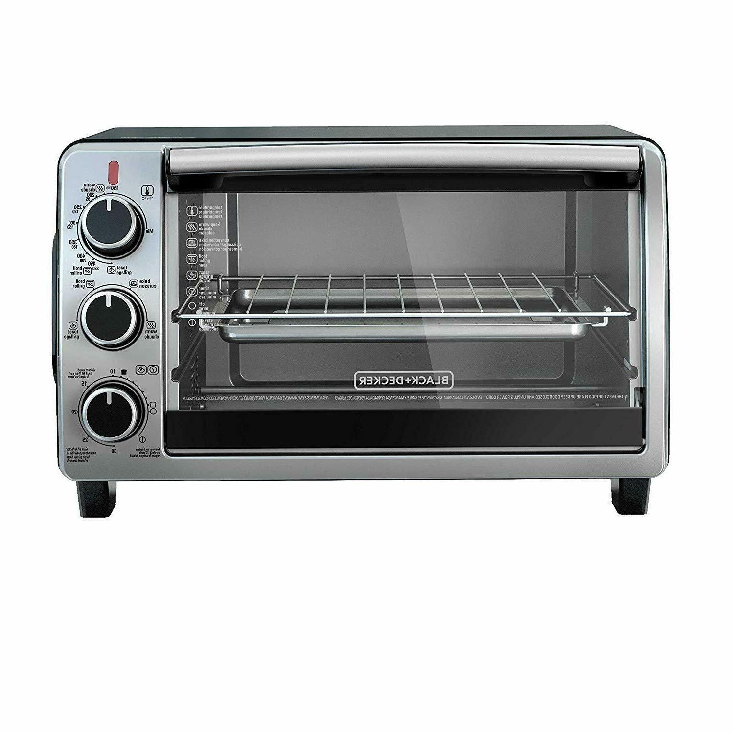 CONVECTION Toaster Stainless Steel Baking Broiling