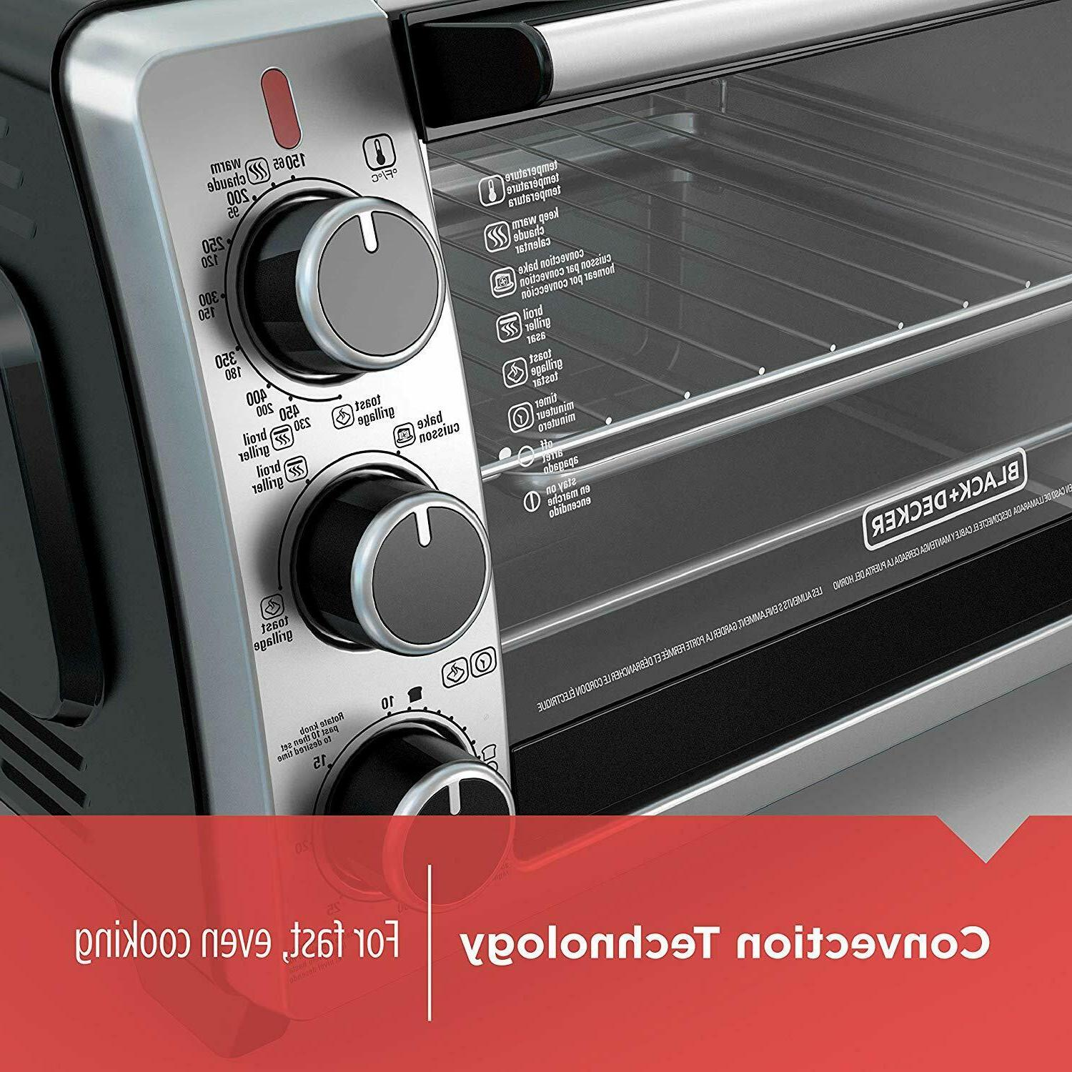 CONVECTION OVEN Countertop Toaster Stainless Steel