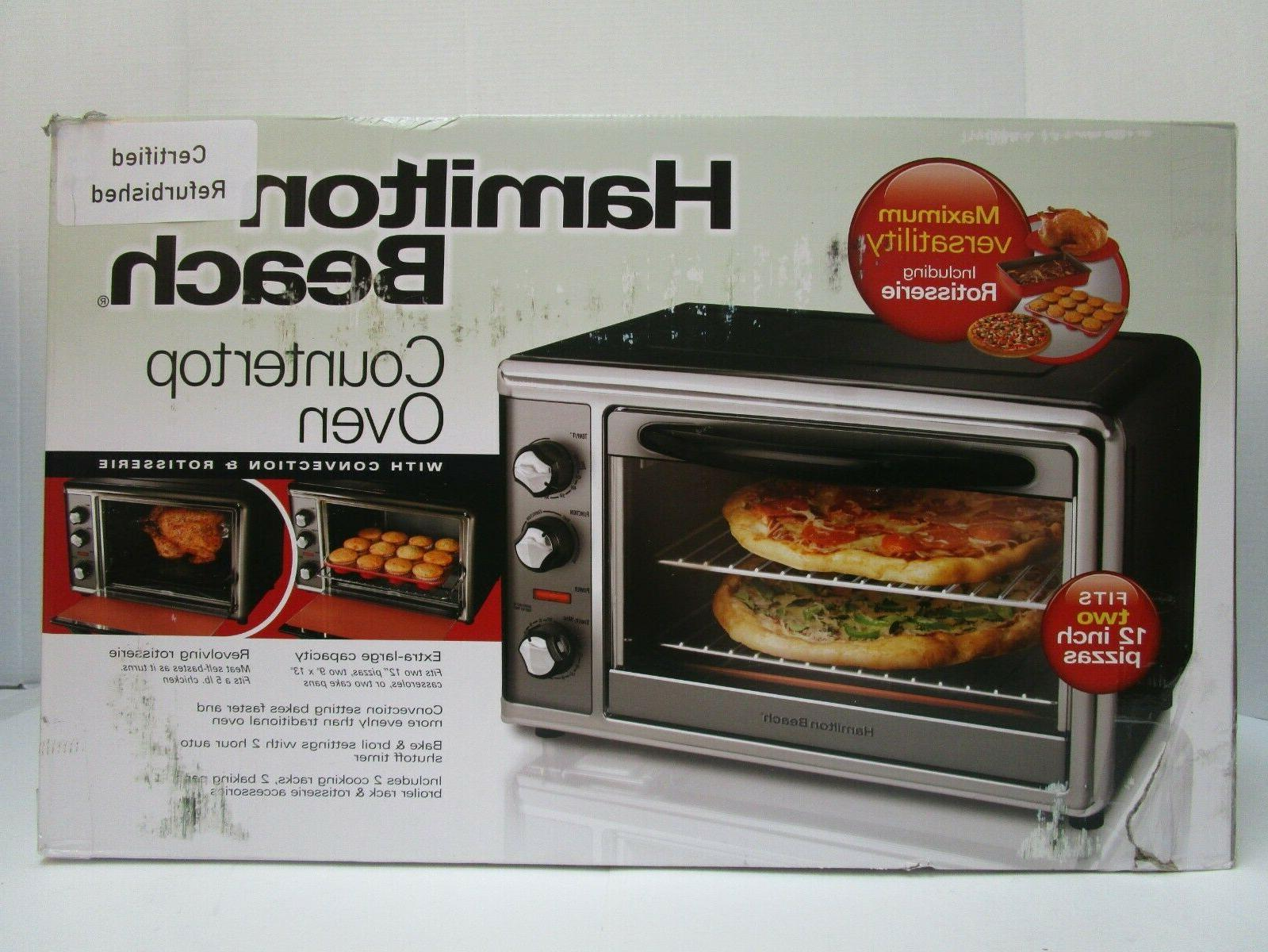 convection oven rotisserie countertop pizza