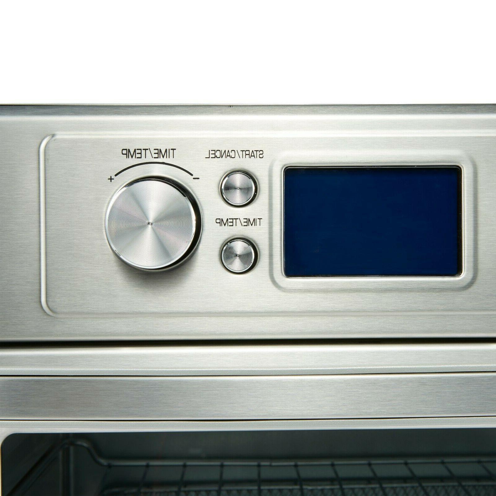 Convection Oven Fryer Fast Auto Shutoff Sound NEW
