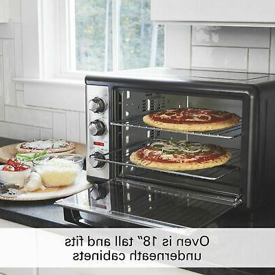 Convection Oven with Rotisserie Stainless Countertop Beach XL New