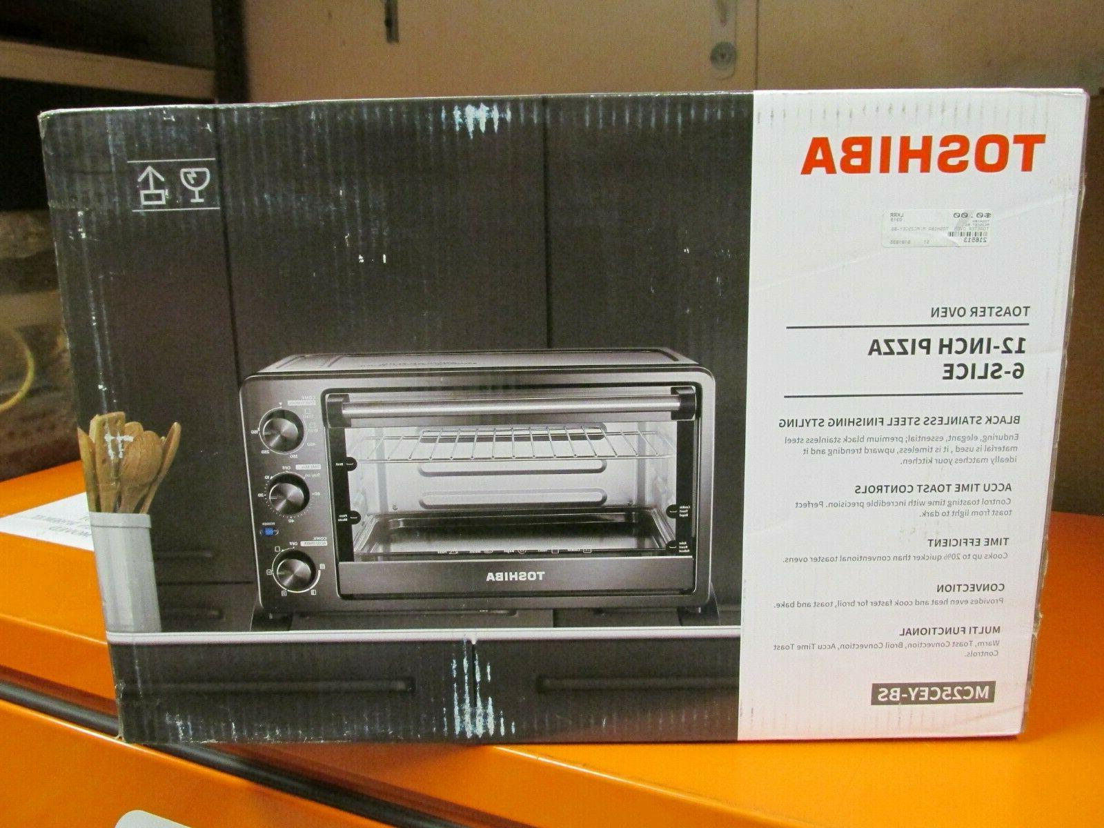 Toshiba Toaster 6-Slice 3-Rack Tray