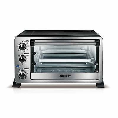 Toshiba Convection Toaster Oven 6-Slice Stainless Pizza Baki