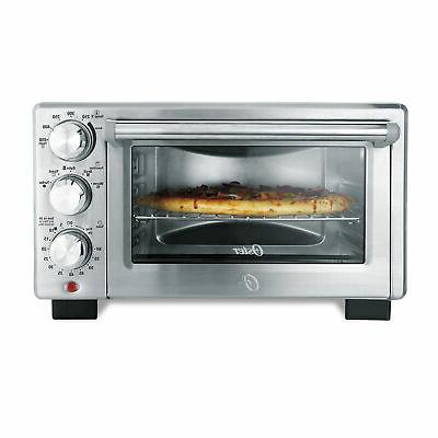 Oster Countertop Turbo Convection Toaster Steel