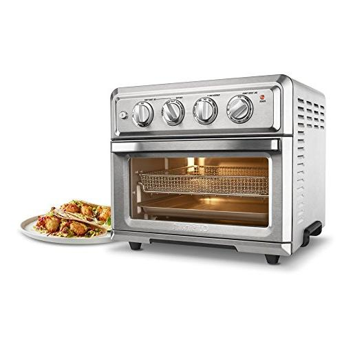 Cuisinart Oven Air Fryer Light, Silver w/1 Year Extended