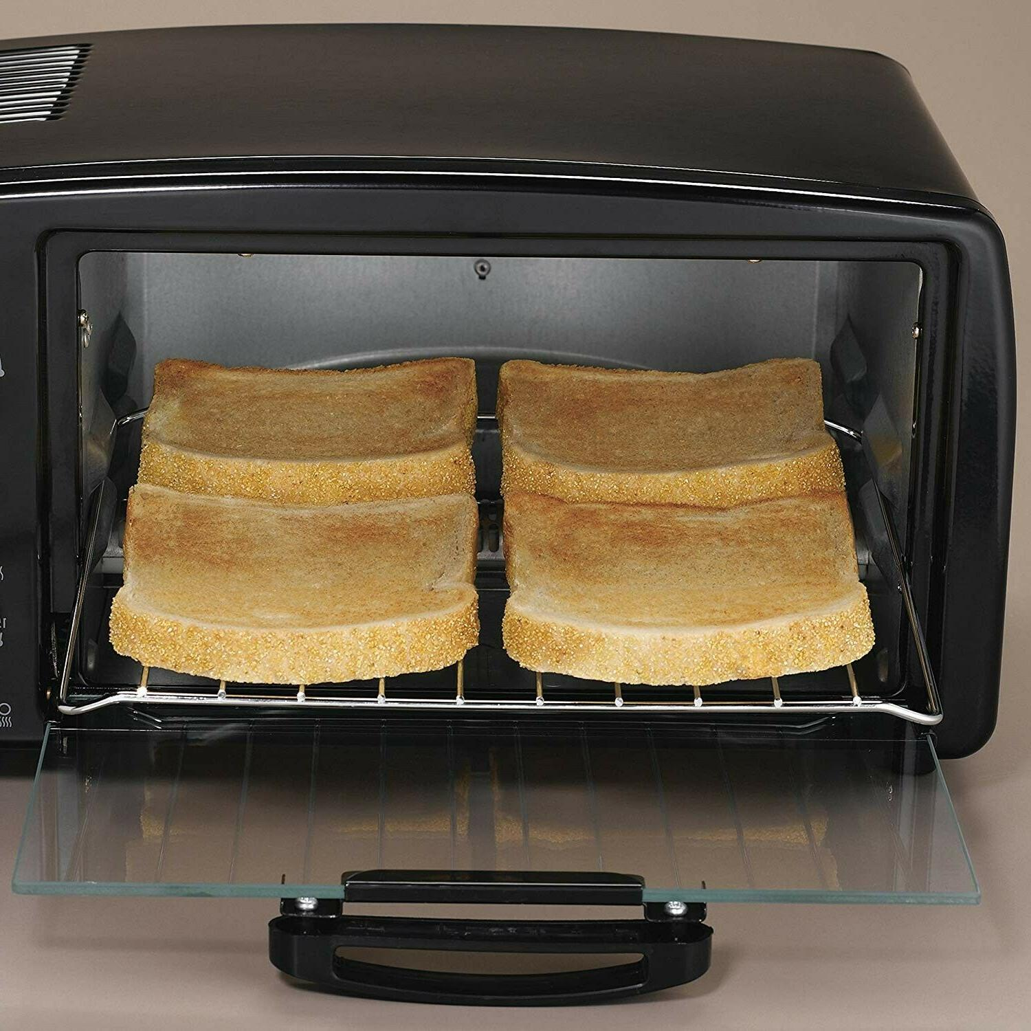 Convection Toaster Oven Beach 4 Pizza Toasts Food NEW