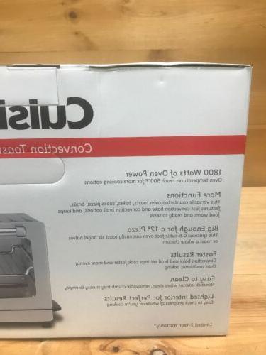 Cuisinart Toaster Oven Broiler TOB-7 - Steel