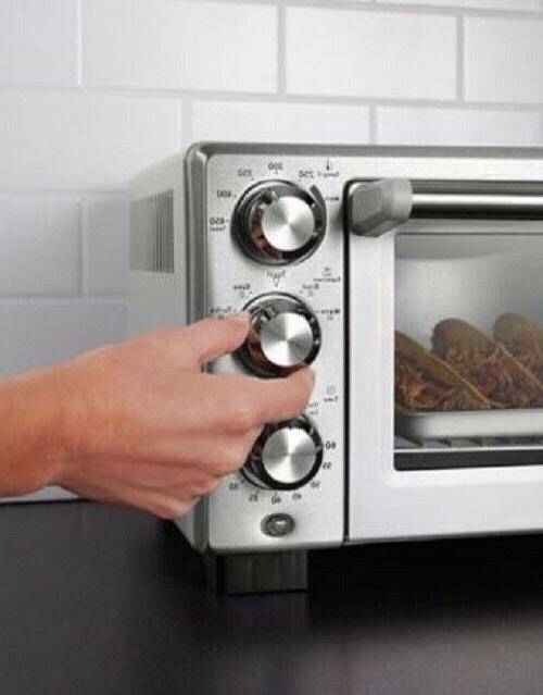 Convection Toaster Oven Stainless Steel Family-Size Cook