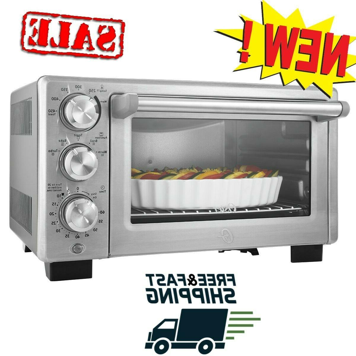 convection toaster oven countertop rack tray pizza