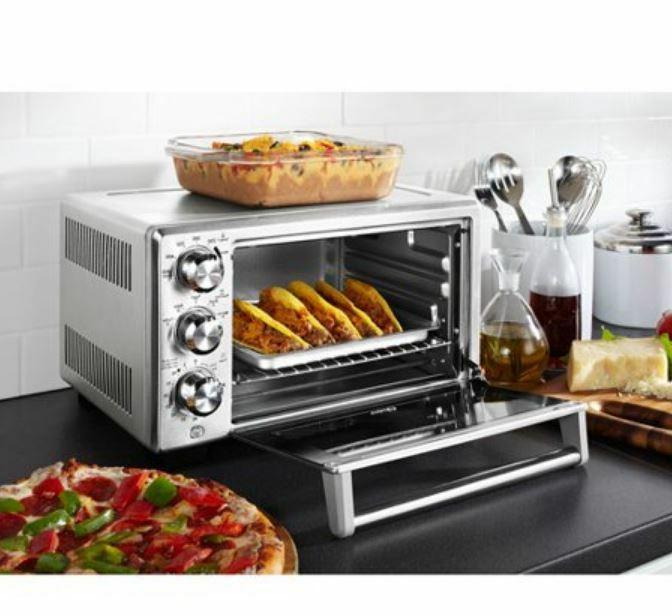 Countertop Convection Toaster Oven Counter Top Pizza Stainle