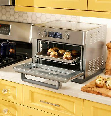 GE - Convection Oven with - Stainless