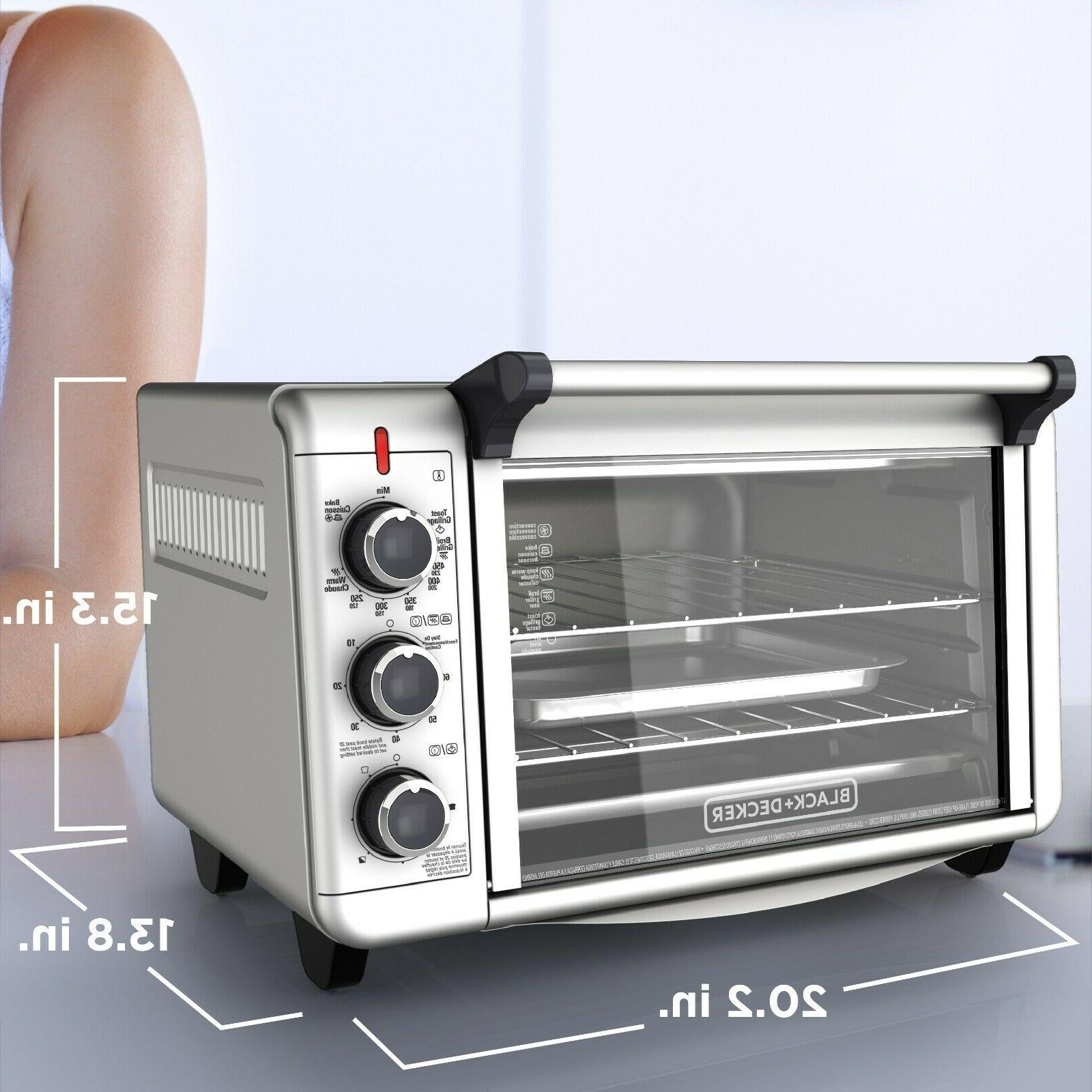 Countertop CONVECTION Toaster Baking Broiling Kitchen