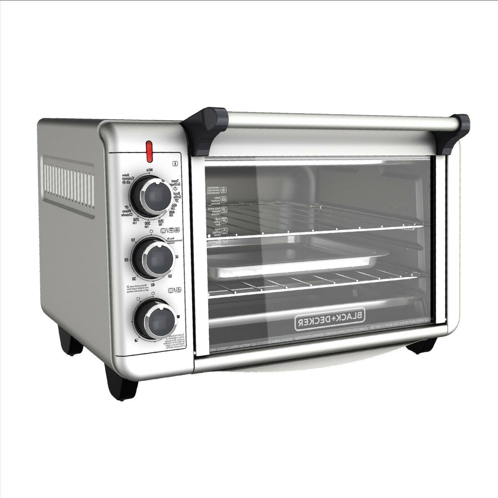 Countertop CONVECTION OVEN Toaster Stainless Broiling