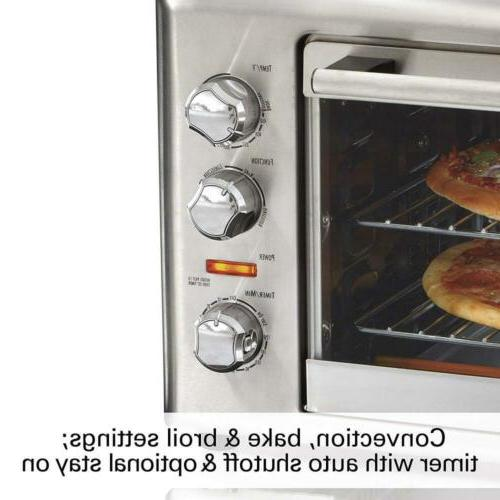 Countertop Convection Oven, Extra-Large, Steel