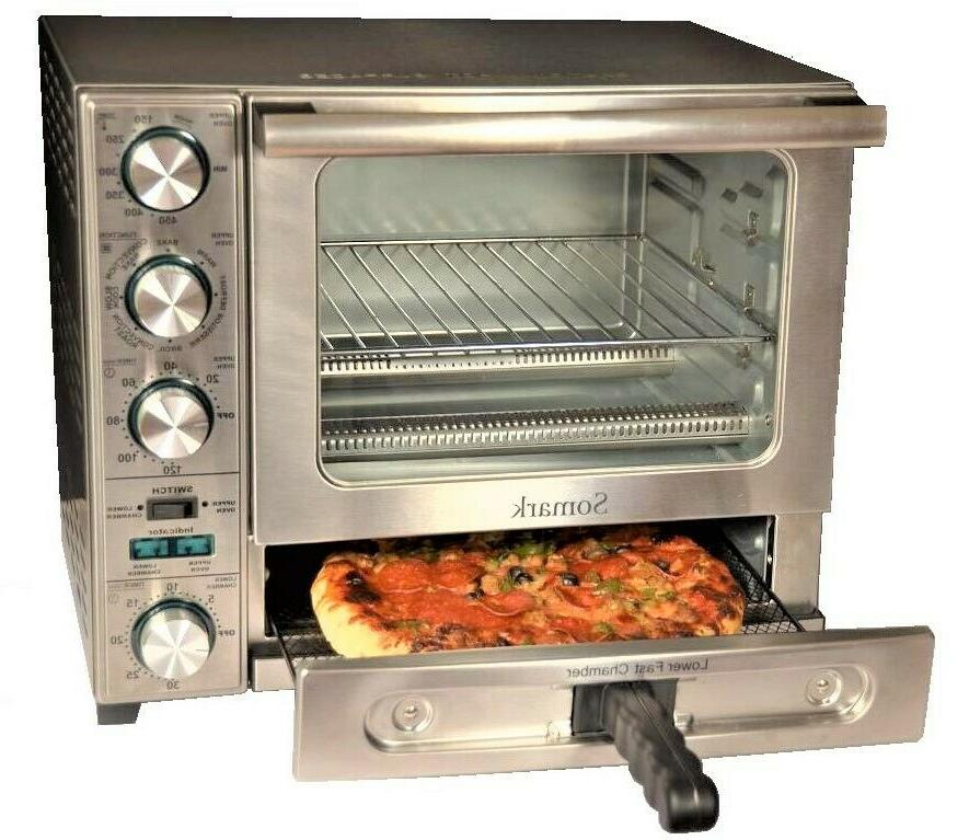 Somark Infrared Convection Rotisserie Oven With Pizza Chamber 1500W