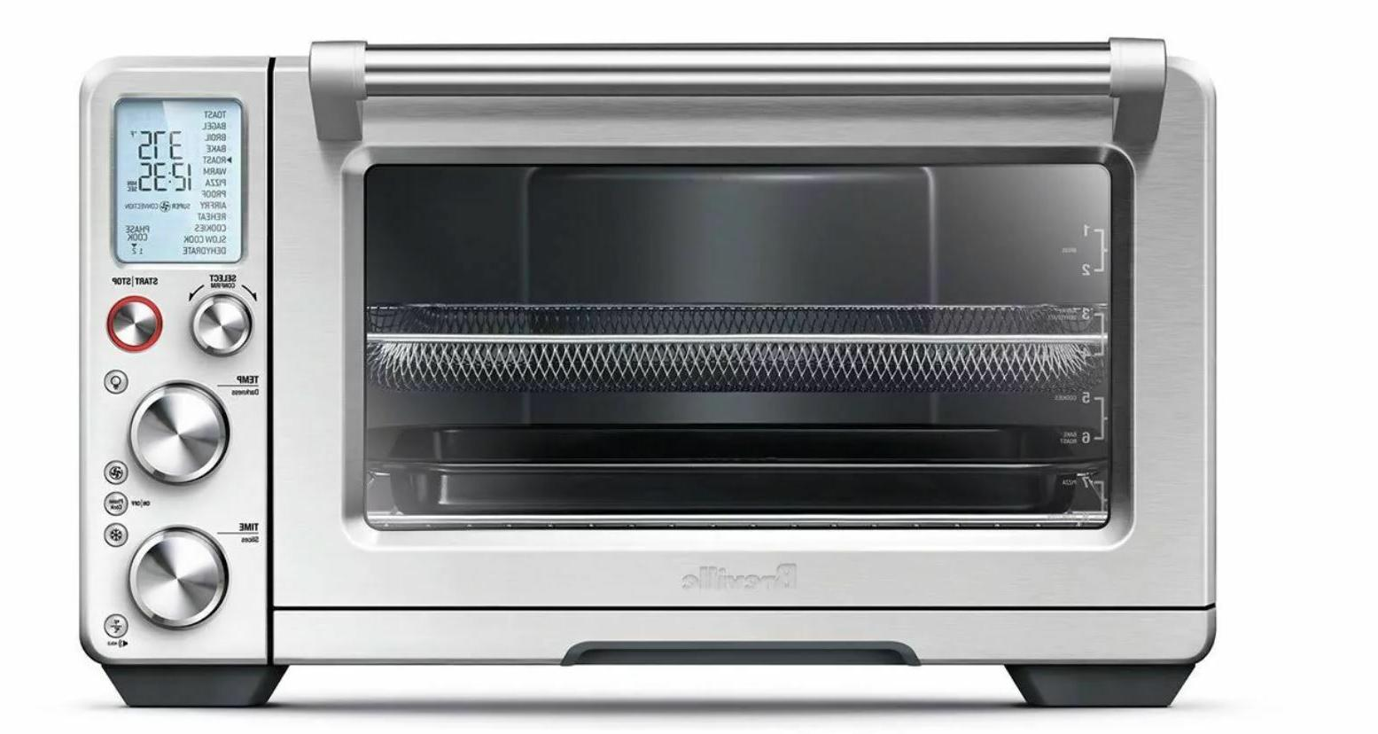 countertop smart oven convection stainless