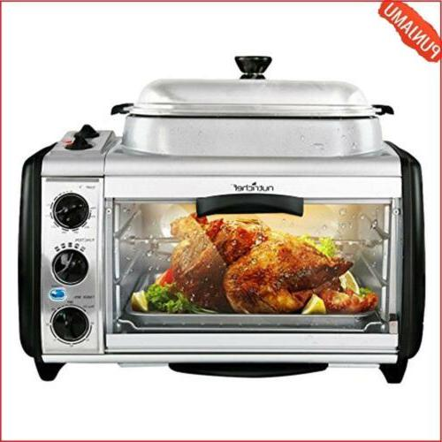 Countertop Toaster Oven Perfect for Multi Baking Sear Simmer