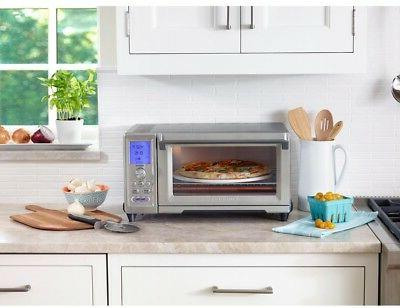 Cuisinart Convection Oven Rotisserie Stainless Functions