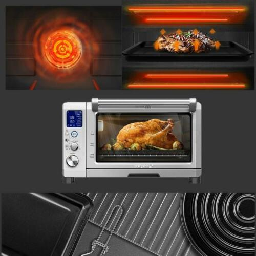 Digital Toaster Oven 6 Stainless Easy