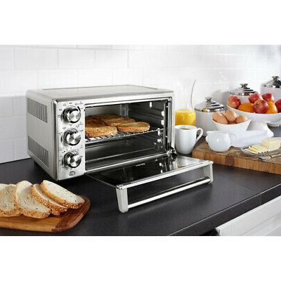 Countertop Convection Toaster Oven Pizza Sandwich Maker Home