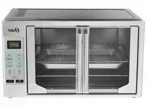 Oster Digital French Door Countertop Oven Turbo Convection E