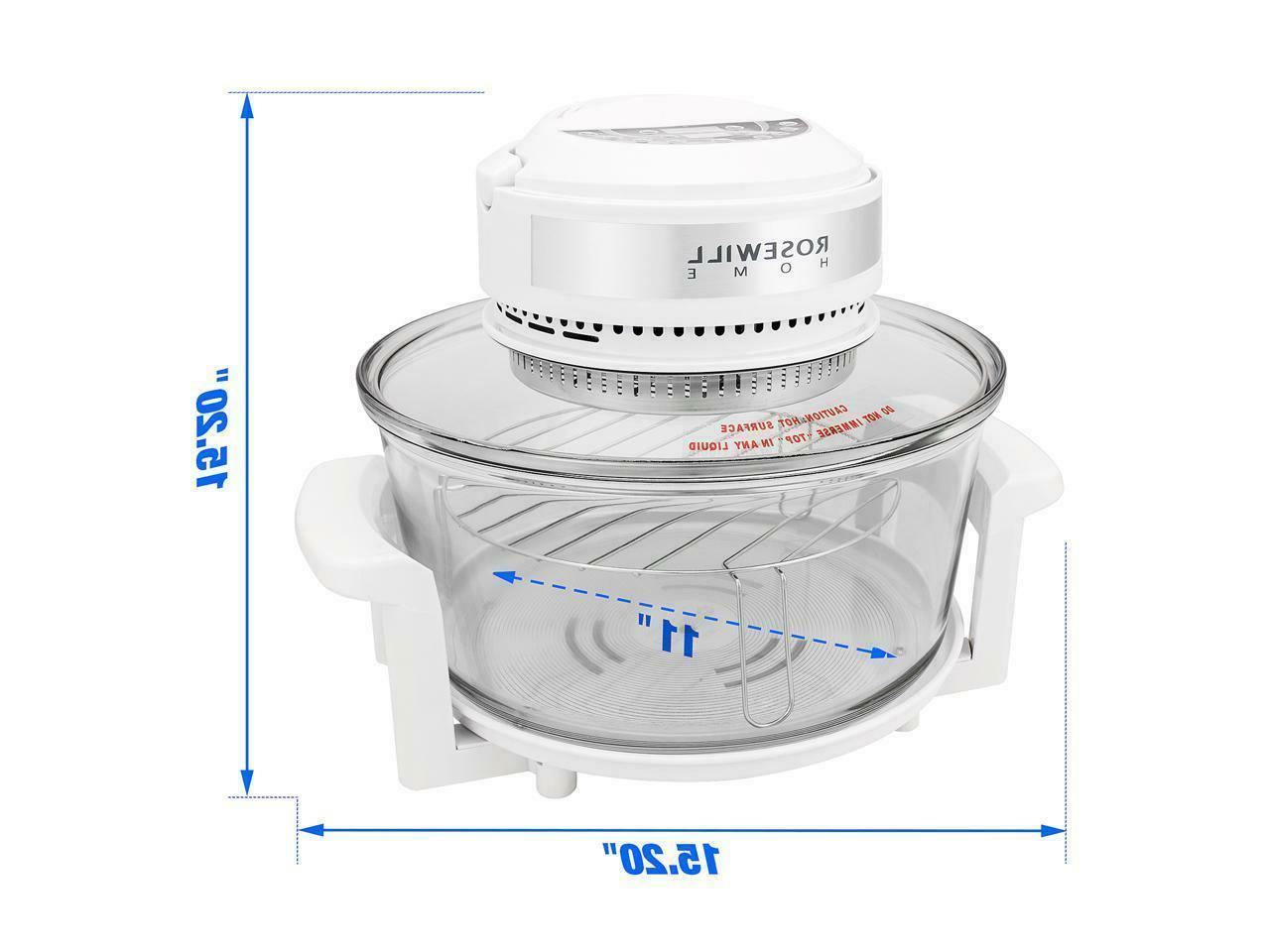 Rosewill Digital Infrared Halogen Convection RHCO-16001