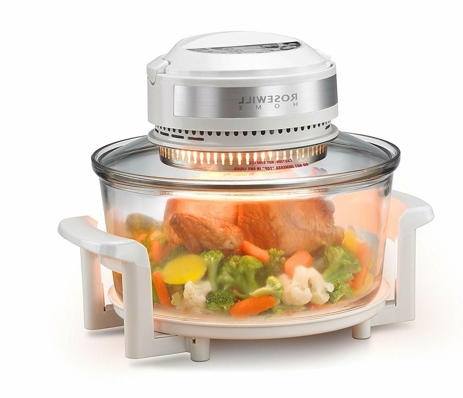 digital infrared halogen convection oven stainless steel