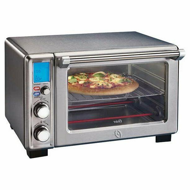 Oster Digital Oven, Brushed Steel