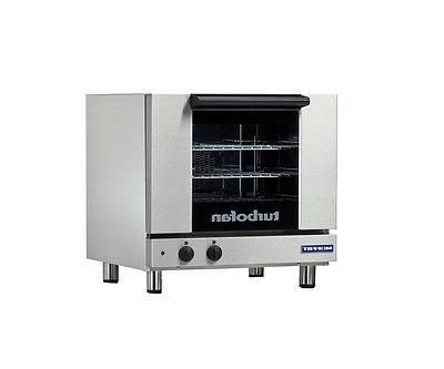 e23m3 turbofan electric convection oven half size