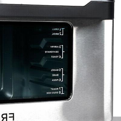 Frigidaire EAFO109-SS 26.4 1800 Watt XL Digital Air