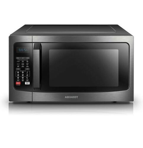 Toshiba EC042A5C-BS Microwave Oven w/ Convection Sensor and LED SHIP