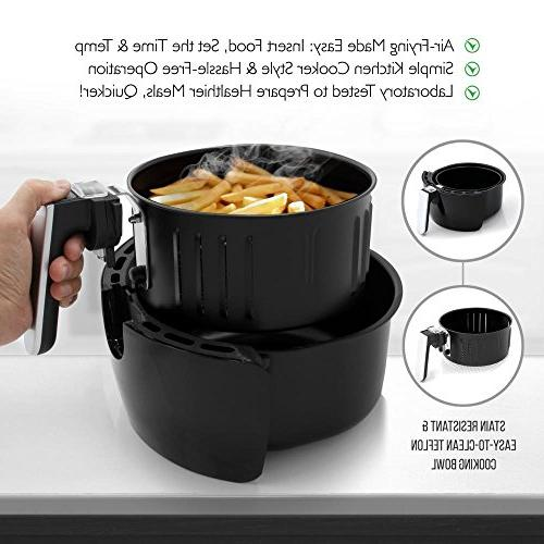 NutriChef Fryer Display - Kitchen Multi Cooker & Cooks Healthy Recipes
