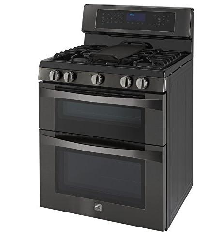 Kenmore ft. Range w/Convection in BlackStainless, and