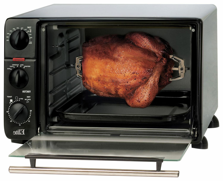 Elite - 0.8 Cu. 6-Slice Oven Broiler