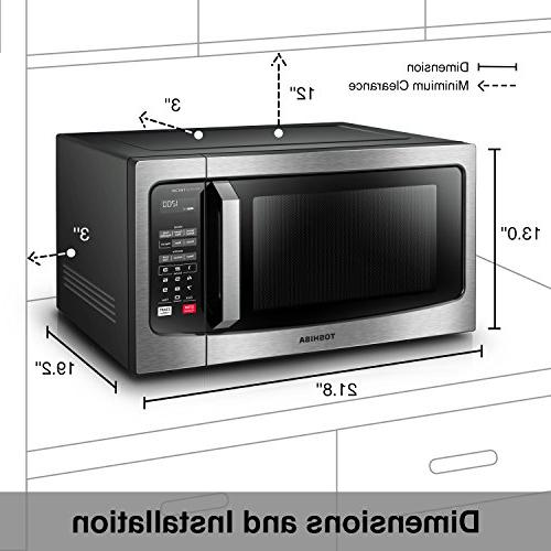 Toshiba Em245a5c Ss Microwave Oven With Inverter