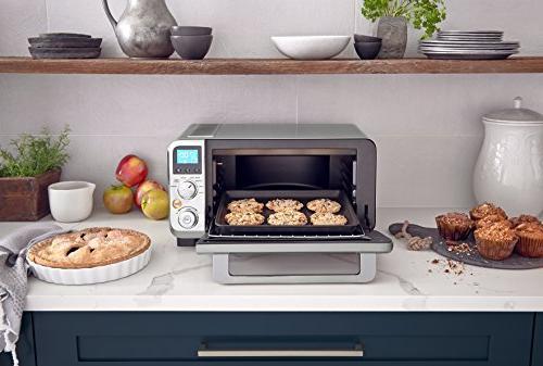De'Longhi EO141150M Compact Convection Oven, Ft, Silver