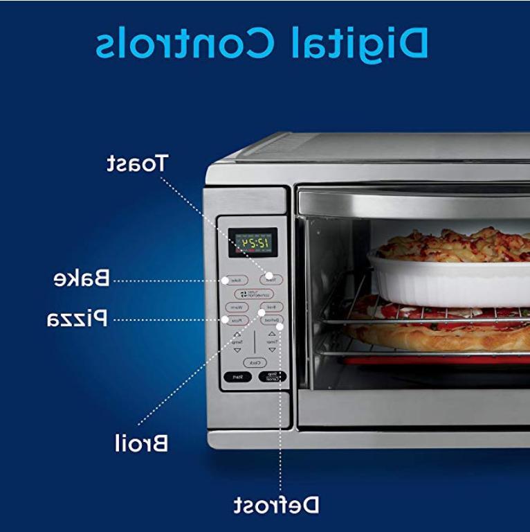 Extra Bake Digital Counter Oven Steel