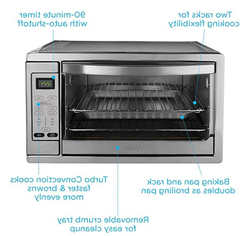 Extra Large Commercial Bake Digital Counter Top Oven Stainless