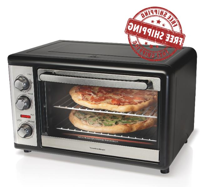 extra large convection oven rotisserie bake broil