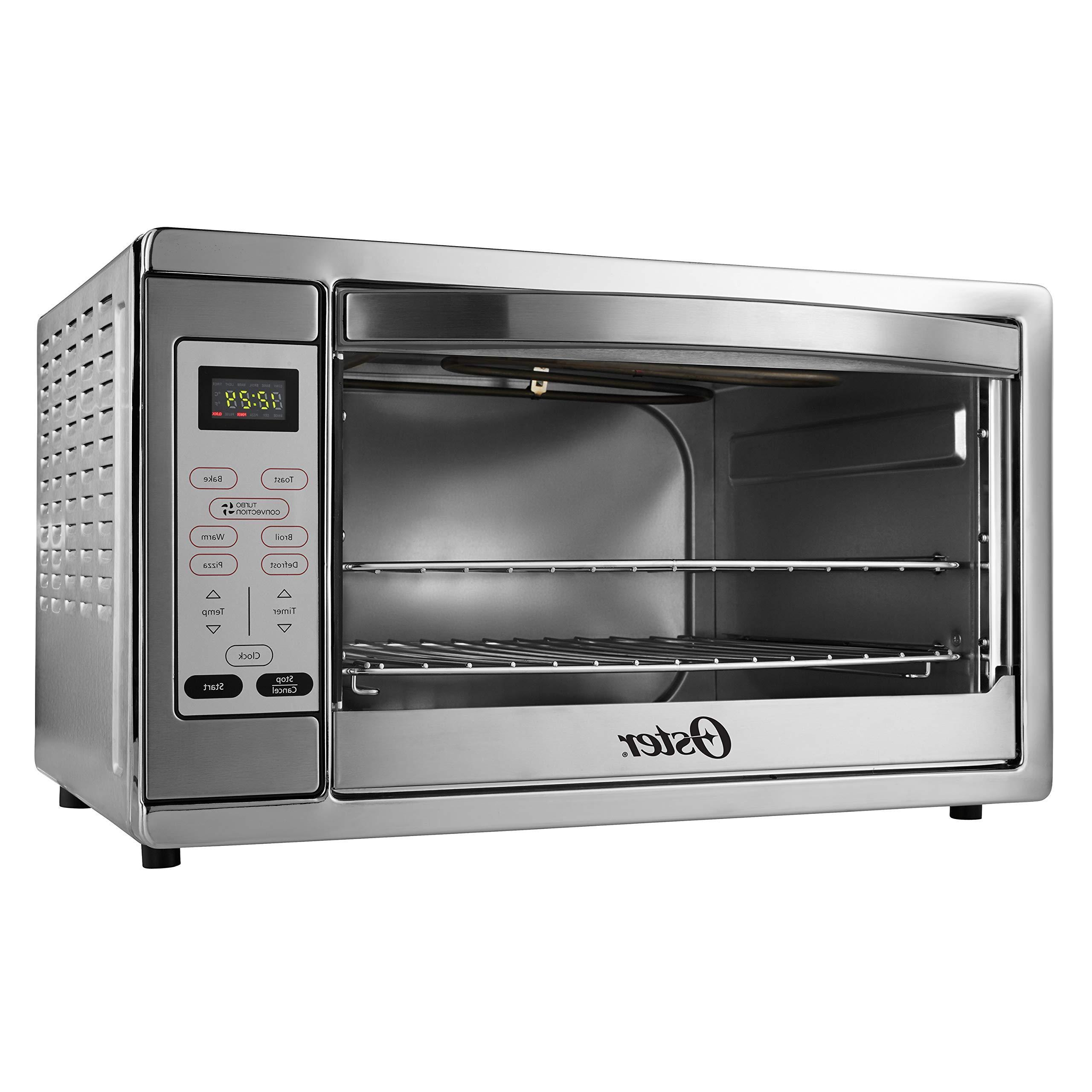 extra large digital countertop convection oven stainless