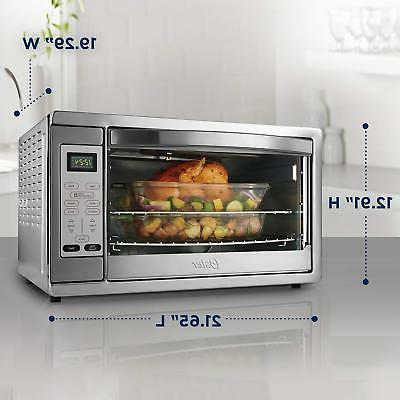 Countertop Convection Oven, Stainless Steel