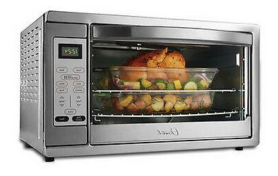 extra large digital toaster oven convection bake