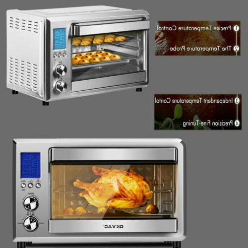Family Convection Toaster Baking&Broiling Kitchen or Pizza