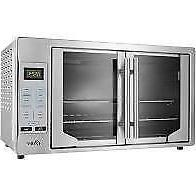 french convection countertop and toaster oven single