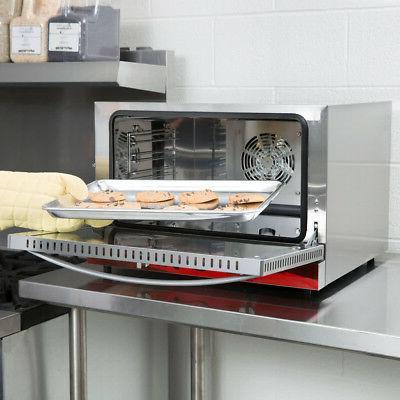 Half Restaurant Kitchen Countertop Oven
