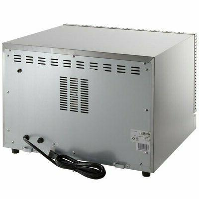 Half Size Convection Oven 120V Glass 1600 Standard Depth