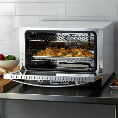 Half Size Countertop Convection Oven 120V 1600 Standard Depth