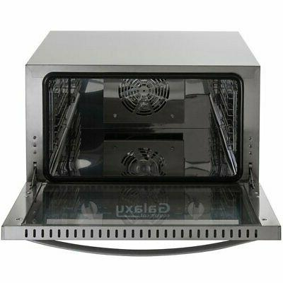 Half Size Convection Oven 1600 Watts Depth