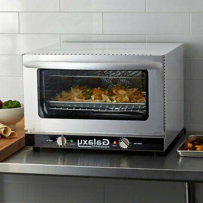 Half Size Countertop Convection Oven 120V Dial 1600 Watts Standard